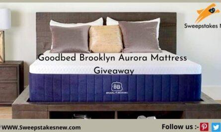 Goodbed Brooklyn Aurora Mattress Giveaway
