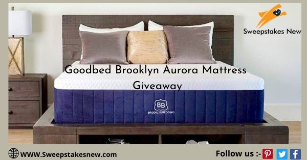 Goodbed Brooklyn Aurora Mattress Giveaway