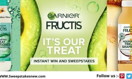 Garnier Instant Win Game and Sweepstakes