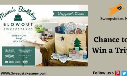 Maine's 200th Anniversary Sweepstakes
