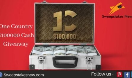 One Country $100000 Cash Giveaway