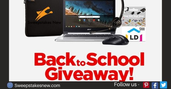 LD Products Back-to-School Giveaway