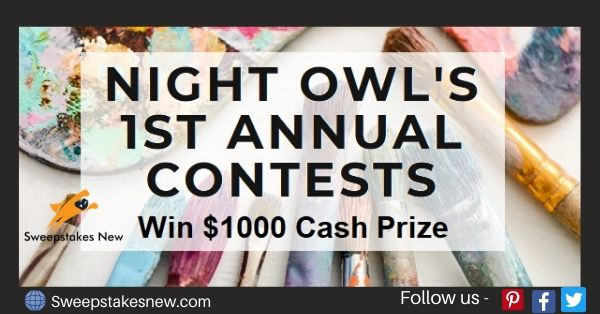 Night Owls Annual Art Contest