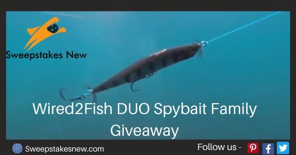 Wired2Fish DUO Spybait Family Giveaway