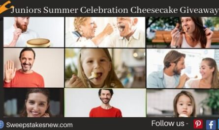 Juniors Summer Celebration Cheesecake Giveaway