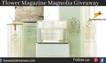 Flower Magazine Magnolia Giveaway