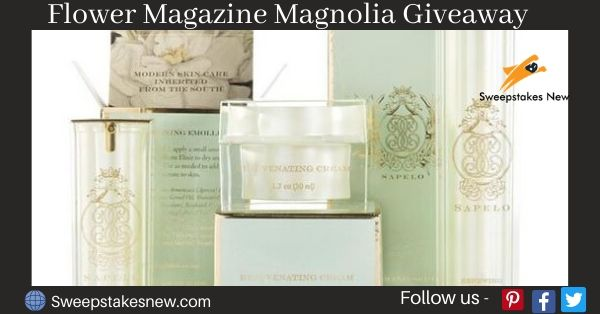 Flower Magazine Magnolia Giveaway