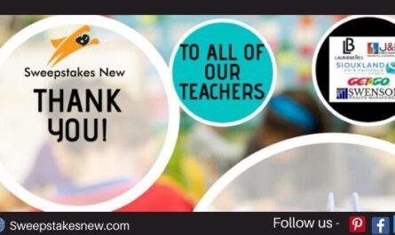 KELO-TV Teacher Appreciation Sweepstakes