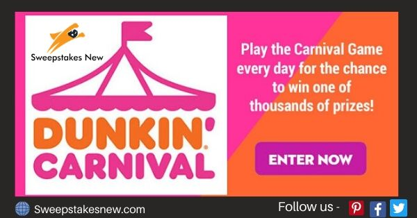 Dunkin' Carnival Sweepstakes