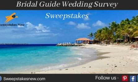 Bridal Guide Wedding Survey Sweepstakes