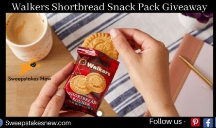 Walkers Shortbread Snack Pack Giveaway