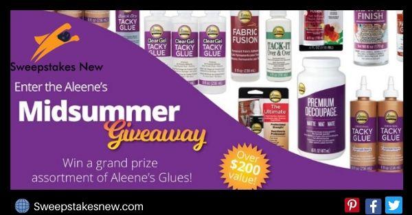 Duncan Enterprises Aleene Midsummer Giveaway