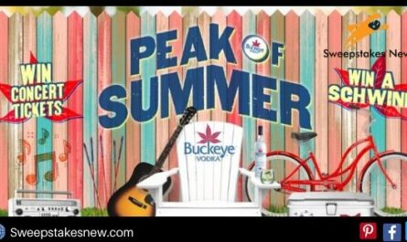 Buckeye Vodka Peak Of Summer Sweepstakes