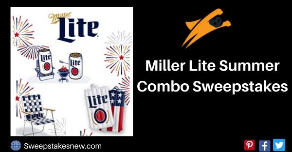 Miller Lite Summer Combo Sweepstakes