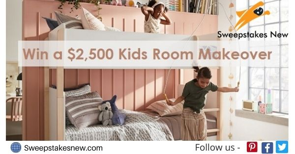Kids Room Makeover With Domino Sweepstakes
