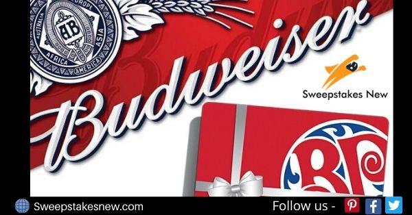 Budweiser Gift Card Contest