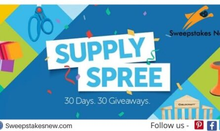 School Specialty Supply Spree Sweepstakes
