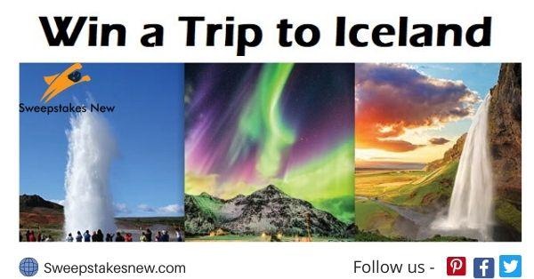 Acanela Iceland Trip Sweepstakes