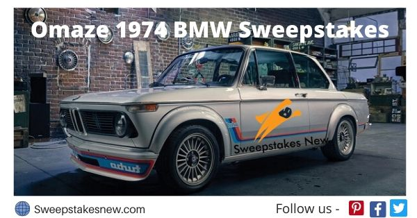 Omaze 1974 BMW Sweepstakes