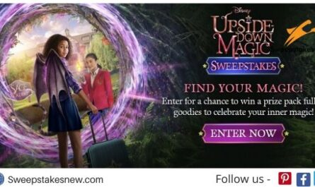 Disney Upside-down Magic Sweepstakes