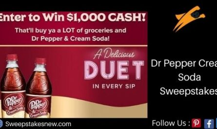 Dr Pepper Cream Soda Sweepstakes