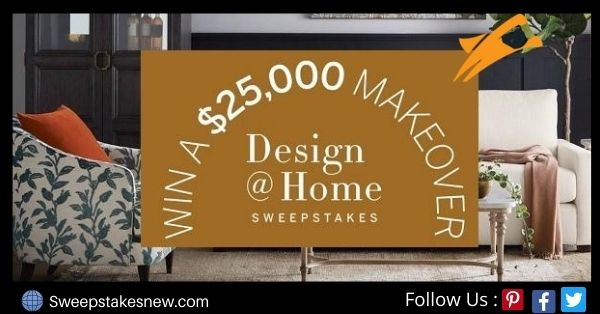 Frontgate $25000 Home Makeover Sweepstakes