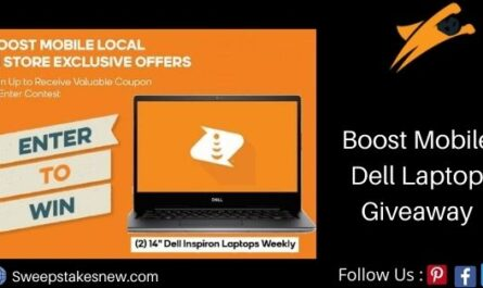 Boost Mobile Dell Laptop Giveaway