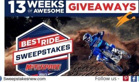 Motosport Dirt Bike Sweepstakes