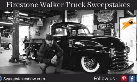 Firestone Walker Truck Sweepstakes