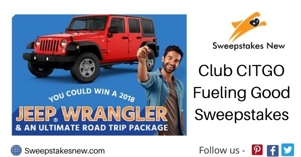 Club CITGO Fueling Good Sweepstakes