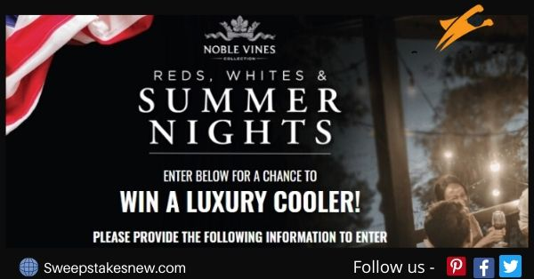 Noble Vines Summer Sweepstakes