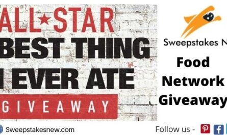 Food Network All Star Giveaway