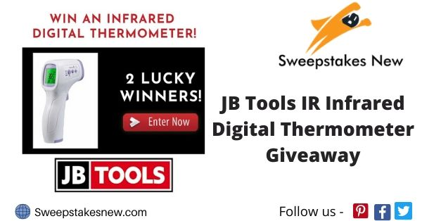 JB Tools IR Infrared Digital Thermometer Giveaway