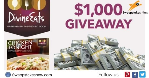 Divine Eats $1000 Gift Card Giveaway