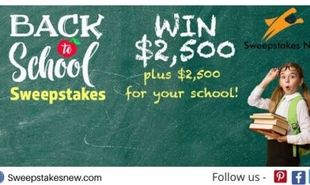 FamilyTalkToday Back To School Cash Sweepstakes