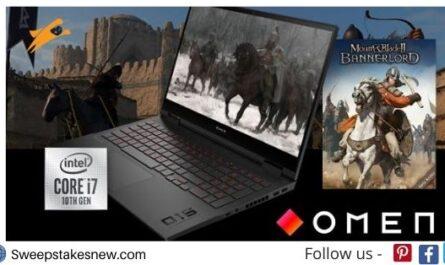 Intel Gaming Laptop Sweepstakes