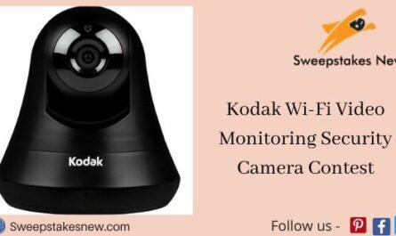 Kodak Wi-Fi Video Monitoring Security Camera Contest