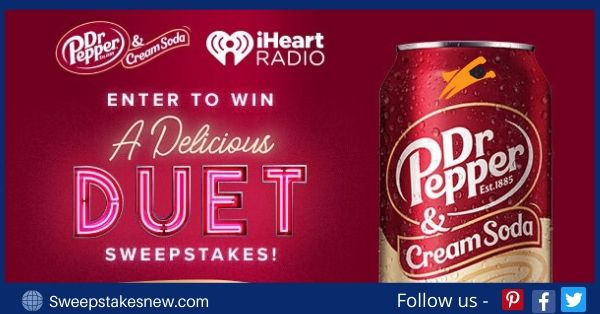 Iheartmedia A Delicious Duet Sweepstakes