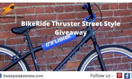BikeRide Thruster Street Style Giveaway