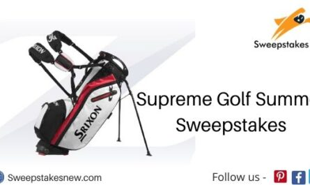 Supreme Golf Summer Sweepstakes