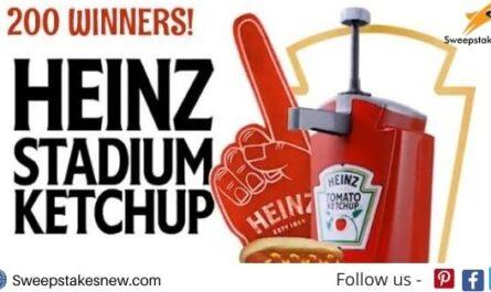 Heinz Stadium Ketchup Sweepstakes
