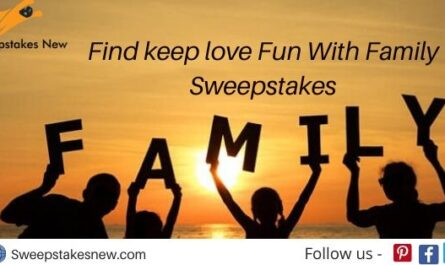 Findkeeplove Fun With Family Sweepstakes