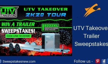 UTV Takeover Trailer Sweepstakes