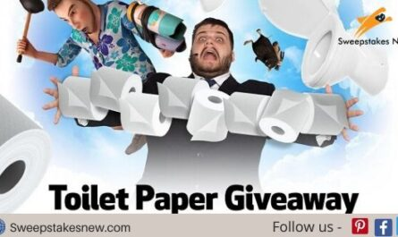 Toilet Paper Giveaway