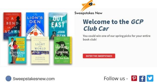 Hachette Book GCP Book Club Sweepstakes