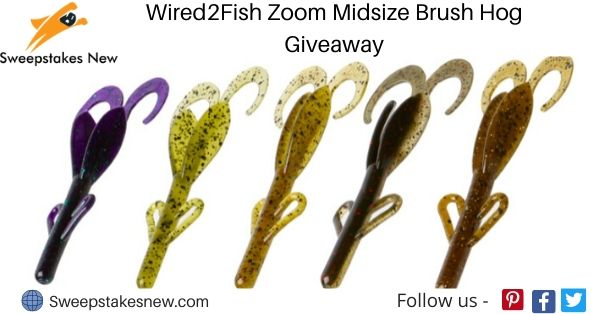 Wired2Fish Zoom Midsize Brush Hog Giveaway