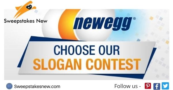 Newegg Choose Our Slogan Contest