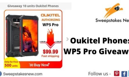 Oukitel Phones WP5 Pro Giveaway
