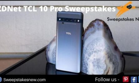 ZDNet TCL 10 Pro Sweepstakes