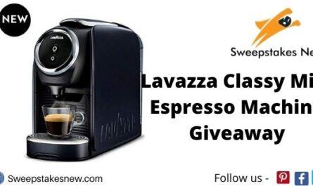 Lavazza Classy Mini Espresso Machine Giveaway